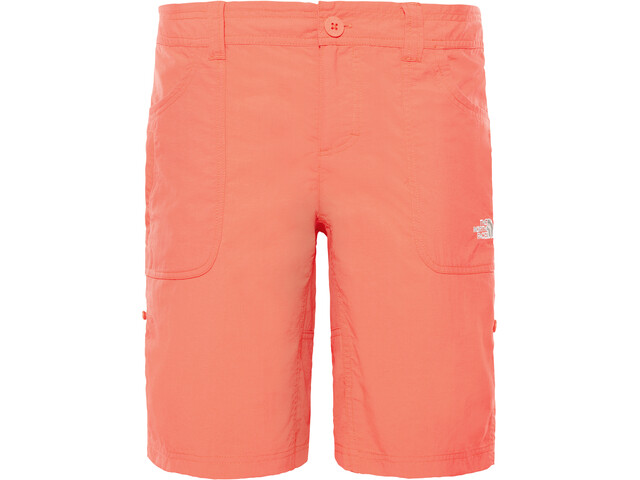 The North Face Horizon Sunnyside Pantalones cortos Mujer, juicy red